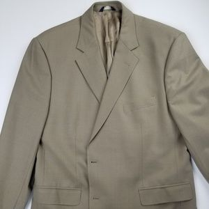 "Brooks Brothers 346 Two Button ""Stretch"" Blazer"